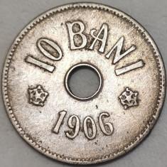 Moneda istorica 10 BANI - ROMANIA, anul 1906  *cod 468