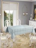 Față de masă Valentini Bianco , model Botanic Vernil