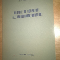 Grupele de conexiuni ale transformatoarelor - N.I. Bulgakov (1957)