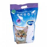 Cumpara ieftin Asternut igienic pentru pisici Duvo, Silicat Lavanda, 5L