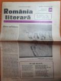 Romania literara 21 august 1980-articol nicolae iorga si tudor arghezi