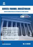 Cumpara ieftin Revista Forumul Judecatorilor - Nr. 1 2019