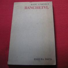 Radu Carneci - Banchetul (autograf, dedicatie), Radu Paraschivescu