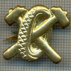 Y 1823 INSIGNA - MILITARA -SEMN DE ARMA - AUTO  -PENTRU COLECTIONARI