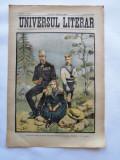 Ziarul Universul Literar , 29 Iulie 1902 , Regele Carol I , cromolitografie