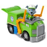 Patrula Catelusilor Vehicule Cu Figurina Rocky, Spin Master