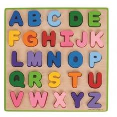 Puzzle colorat - alfabet