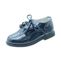 Pantofi eleganti pentru baietei MRS S101B1, Bleumarin