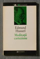 Edmund Husserl - Medita?ii carteziene foto