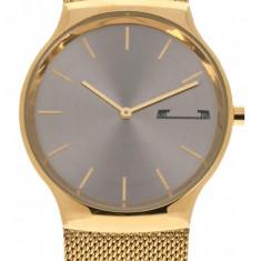 Ceas de mana barbati elegant, auriu Matteo Ferari - MF8256GOLD