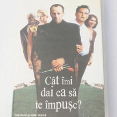 Caseta video VHS originala film tradus Ro - Cat imi dai ca sa te impusc?