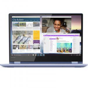 Laptop Lenovo Yoga 530-14IKB 14 inch FHD Touch Intel Core i5-8250U 8GB DDR4 512GB SSD Windows 10 Home Liquid Blue