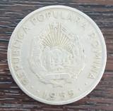 (MR28) MONEDA ROMANIA - 50 BANI 1955, REPUBLICA POPULARA ROMANA. KM#86