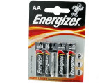 Baterie AA, R6, alcalina, 1,5V, blister 4 buc, Energizer - 050333