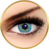 Solotica Hidrocor Topazio - lentile de contact colorate albastre lunare - 30 purtari (2 lentile/cutie)