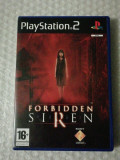 Forbidden Siren, PS 2, original, alte sute de titluri