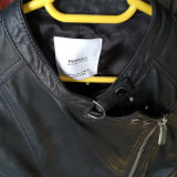 Jacheta piele, Negru, Mango Man