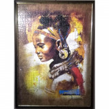 """Puzzle inramat """"African Beauty"""""""