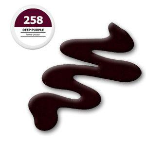 Gel colorat UV 5g – Deep Purple 258