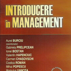 AS - BURCIU AUREL - INTRODUCERE IN MANAGEMENT