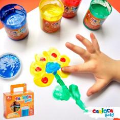 Tempera lavabila Carioca Baby Finger Paint 2