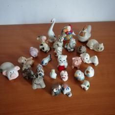 Lot 26 figurina/figurine animale miniatura portelan ceramica 8-2 cm