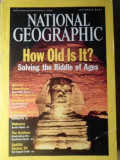 NATIONAL GEOGRAPHIC HOW OLD IS IT? SEPTEMBER 2001-COELCTIV, Tudor Vianu