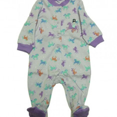Salopeta / Pijama bebe cu caluti Z32