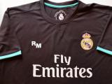 Tricou fotbal - jucatorul RONALDO nr.7 - REAL MADRID (produs oficial), L, Negru, De club