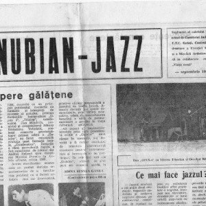 Danubian Jazz, ziar 4 pagini septembrie 1989