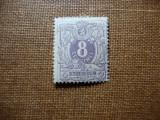 BELGIA 8C 1869 MH, Nestampilat