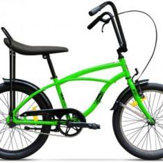 Bicicleta Pegas Strada Mini 1S 2017, Cadru 13inch, Roti 20inch (Verde)