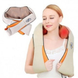 Aparat pentru masaj umeri si gat Shiatsu Massager of Neck Kneading cu infrarosu
