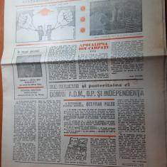 ziarul fapta 29 martie-5 aprilie 1990-anul 1,nr.2 al ziarului-art. regele mihai