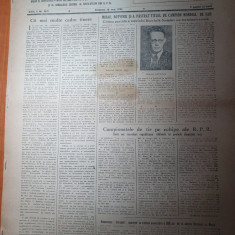 sportul popular 15 mai 1954-fotbal dinamo-dozsa budapesta,campioni la box,sah