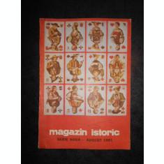 REVISTA MAGAZIN ISTORIC (August, 1991)