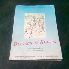 DEUTSCH IST KLASSE. LIMBA GERMANA (1,2). MANUAL PENTRU CLASA A VI-A - GEORGETA FOTEA