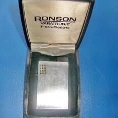 5310-Bricheta Ronson Varatronic Germany electronica, stare buna metal argintat.