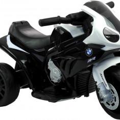 Motocicleta electrica BMW Mini S1000 RR cu 3 roti, negru