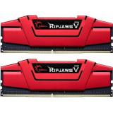 Kit memorie DDR4 16GB RipjawsV (2x8GB) 2400MHz CL15 1.2V XMP 2.0, G.Skill