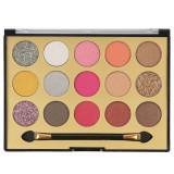 Paleta Profesionala de Farduri MISS ROSE 15 Color Eyeshadows Kit 01