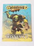 Warhammer Age of Sigmar Destruction Battletome Ironjawz - carte reguli