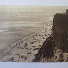 Basarabia-Budachi(Cetatea Alba):Plaja si faleza,carte postala necir.anii 30
