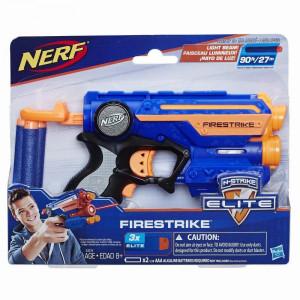 Blaster de jucarie cu laser Nerf Elite Firestrike Albastru