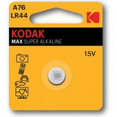 Baterie alcalina LR44 Kodak Ultra, 1.5V