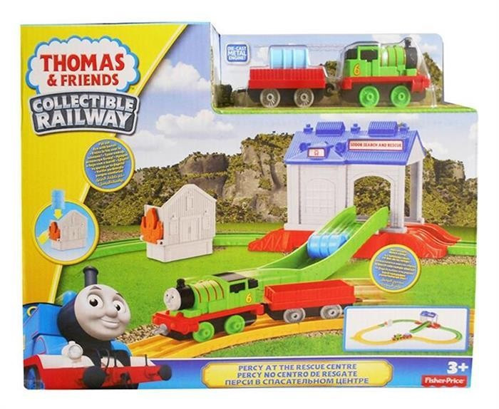 Jucarii Thomas And Friends Collectible Railway Percy At The Rescue Centre