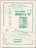 bnk fil Catalogul Expozitia Maximafilia `69 Constanta 1969