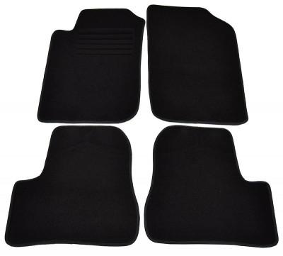 Covorase mocheta Peugeot 206 Hatchback Limuzina 1998- SW Combi 9/2002-6/2007 si 206+ din 01.2009- Negru , set de 4 bucati foto