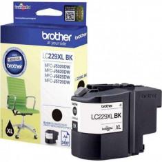 Cartus de cerneala LC229 XL-BK original Brother