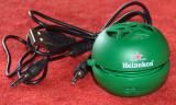 Heineken : miniboxă & căşti